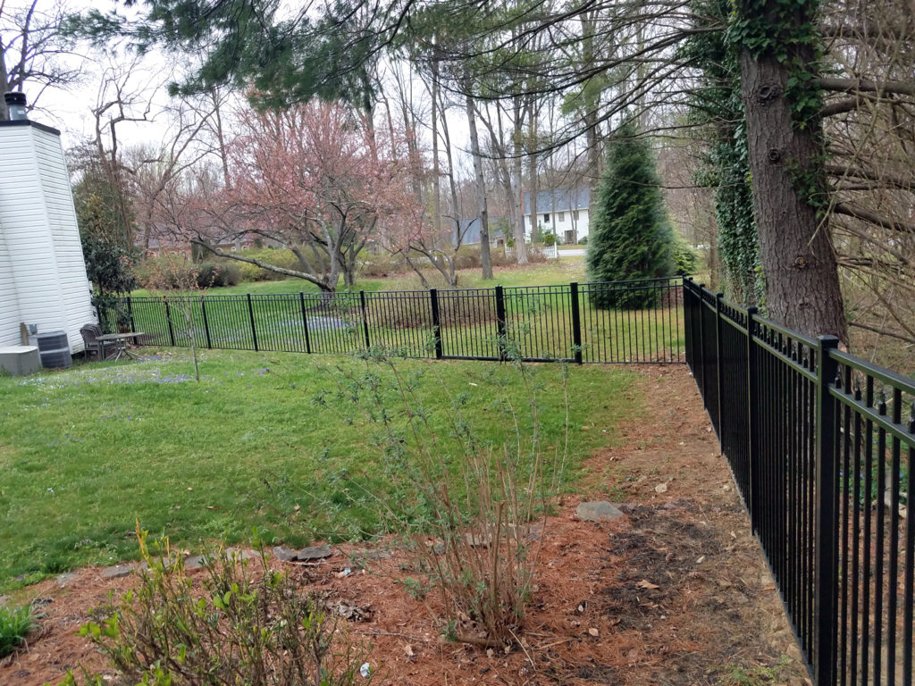 aluminum fence company near Gambrills