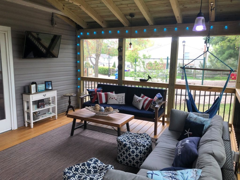 screened porch company in Maryland