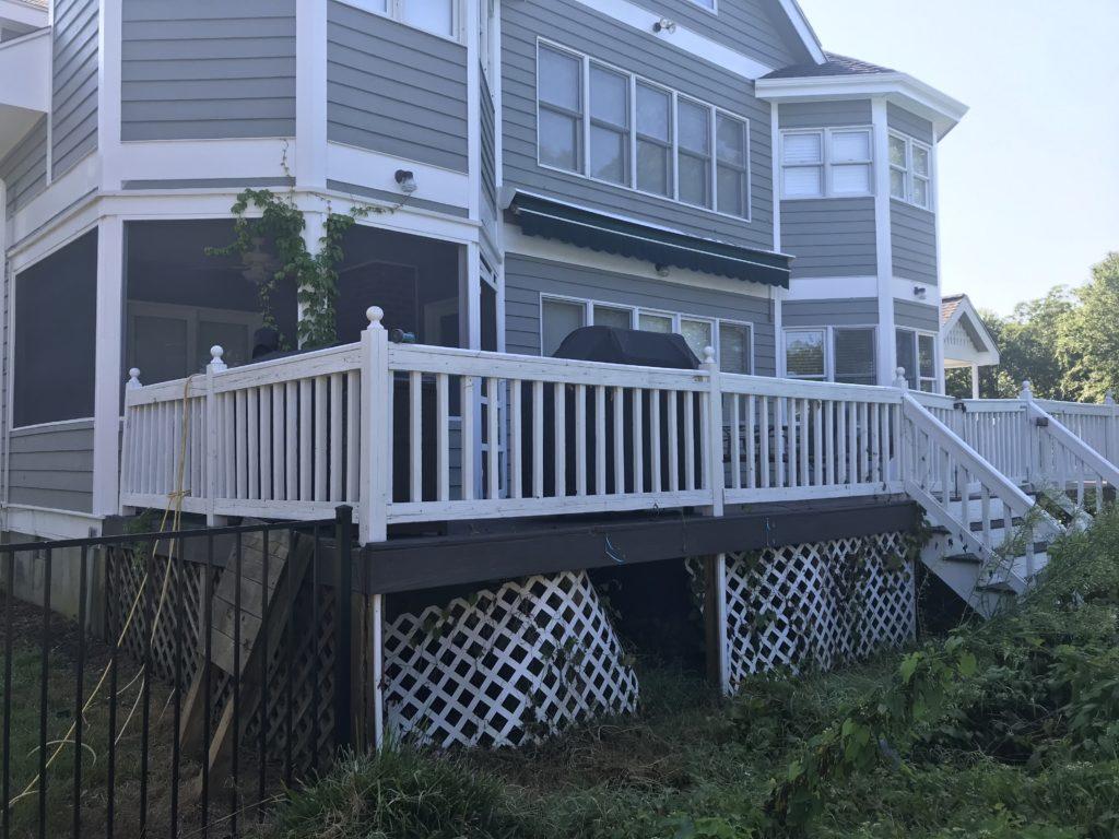 deck makeover Maryland