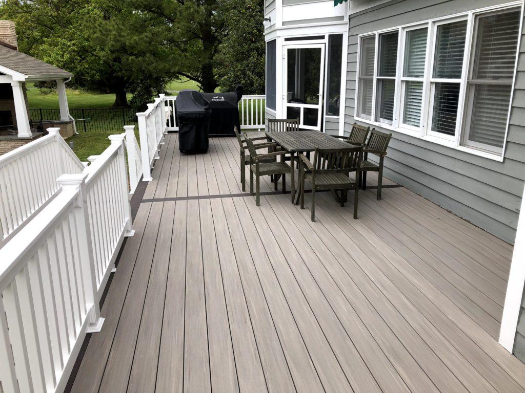 new deck Easton