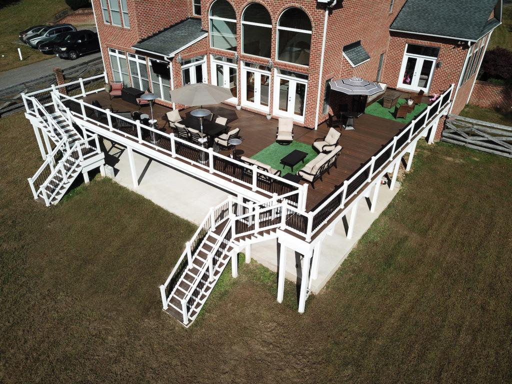 Trex deck in Upper Marlboro