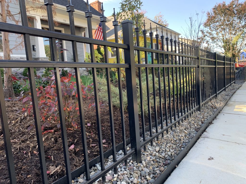 iron fence in Eastport, Maryland