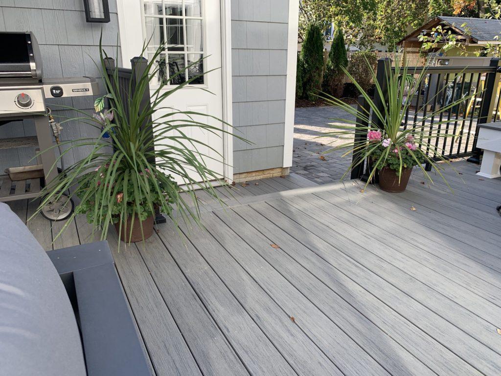 Trex deck in Annapolis
