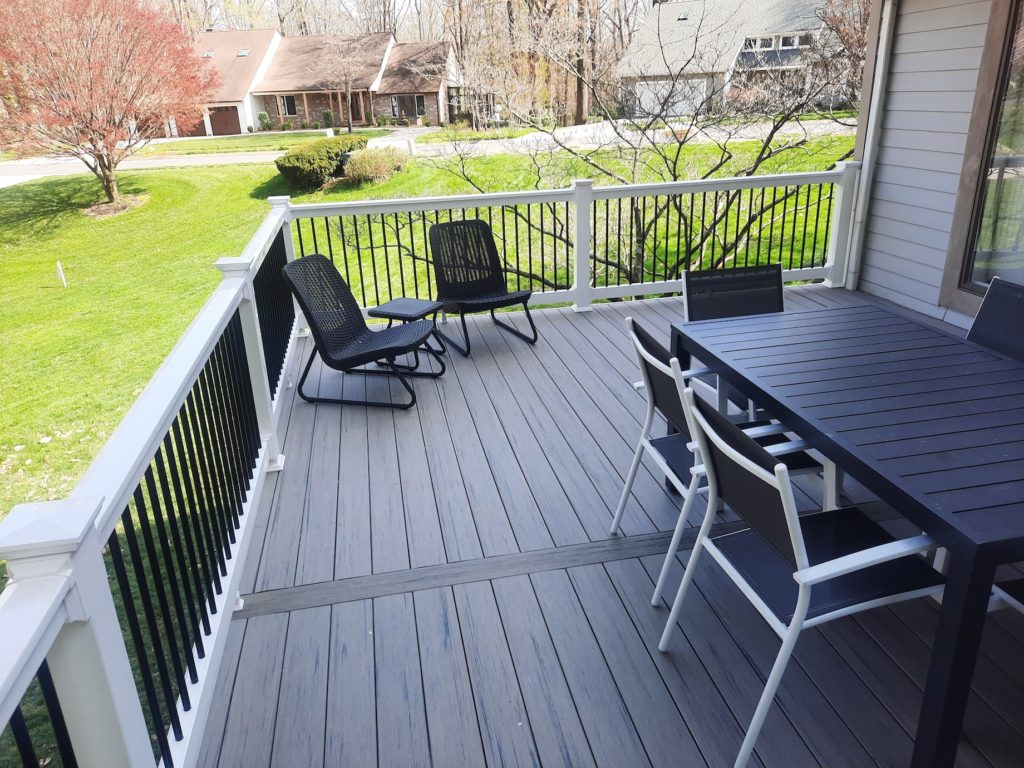 Trex deck in Annapolis Maryland