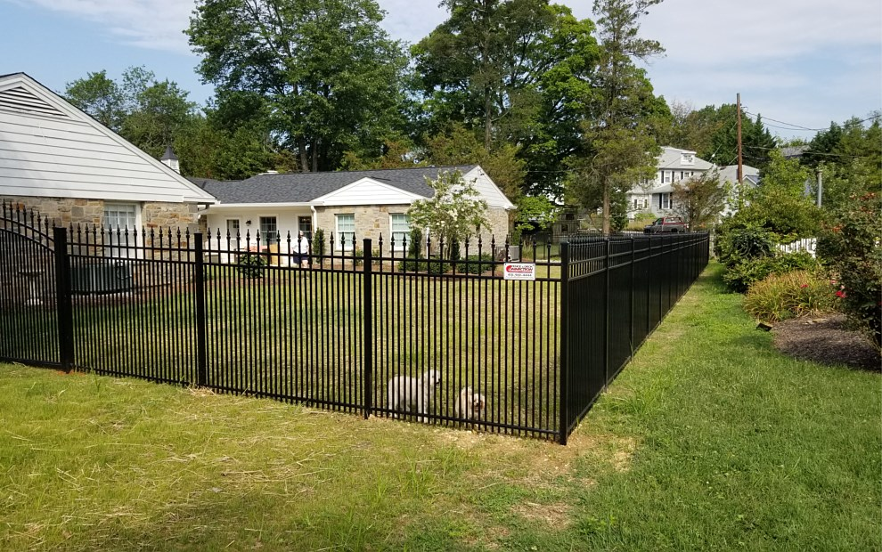 aluminum fence for dogs