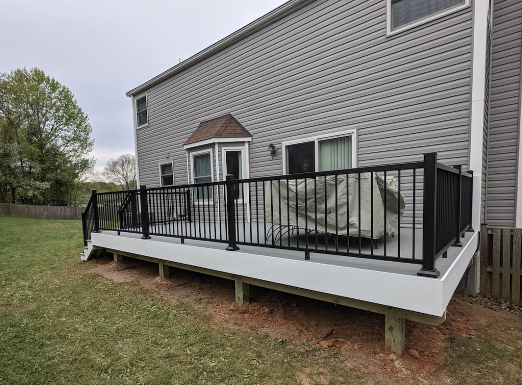 new deck in Columbia, Maryland