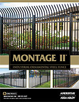 Montage II - Welded Ornamental Steel Fence