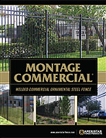 Montage Commercial - Welded Ornamental Steel Fence