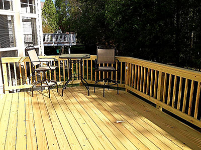 Accessories Wood Deck
