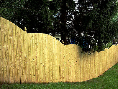 Wood Fencing, Wood fence Materials, Wood Fencing cost