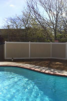 Pool Code vinyl fences for pools