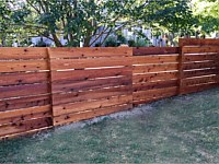 <b>Custom Horizontal Fence</b>