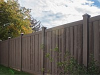 <b>Walnut Brown Ashland Simtek Fence</b>