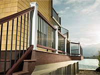 <b>Trex Transcend Decking with Trex Composite Railing and Trex Composite Fascia Board</b>