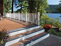 <b>Trex Select Decking in Saddle and Winchester Grey</b>