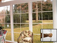 <b>Eze-breeze sliding panels extend your porch season by letting cool breezes in when you want them, but keeping bad weather out.</b>