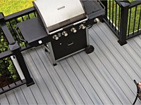 <b>Think about a grill bump out so your grill doesn't take up valuable space on your deck.</b>