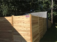 <b>6 foot Pressure Treated Horizontal Fence with Gate</b>