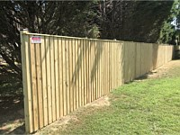 <b>6 foot high Board and Batten Pressure Treated Privacy Fence</b>