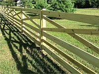 <b>Estate Rail Wood Fence</b>