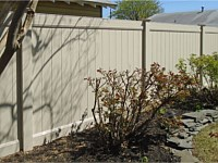 <b>PVC Privacy Fence - 6 Foot Tan Tongue & Groove Vinyl Privacy Fence</b>