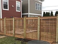 <b>Cedar Lattice Fencing</b>
