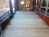 <b>Chesapeake Bay Foundation Redeck front entrance and rear breezeways # 23778D 2</b>