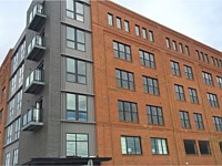 <b>Glass panel and aluminum balcony railing at The National in Baltimore City, MD 3</b>