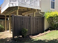 <b>Simtek Ashland Black Oak Privacy Fence</b>