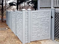 <b>Simtek EcoStone Fence and Gate</b>