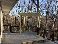 <b>TimberTech Terrain Silver Maple Deck Boards with Black Ultralox Aluminum Railing in Davidsonville MD</b>